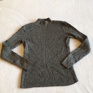 H&M Form Fitting Charcoal Grey Sweater